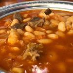 いんげん豆のシチュー