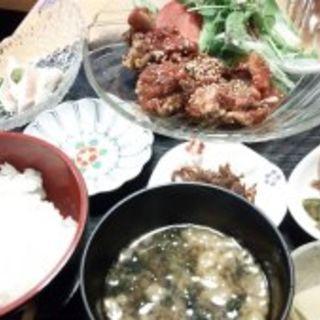 韓国風唐揚げ定食