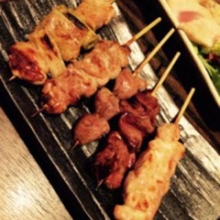 おまかせ串焼き盛り合わせ  5本(とりとんくん )