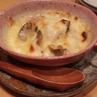 鶏とキノコのチーズ焼き(とりなご )