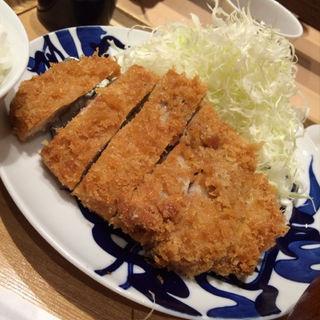 ロースかつ定食(とんかつ寿々木 コレド室町店)