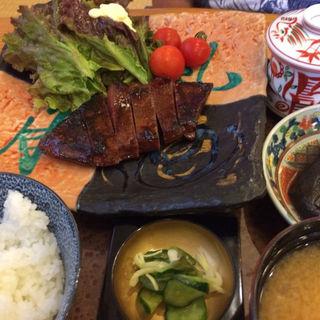 常陸牛の網焼き定食(なかむら )