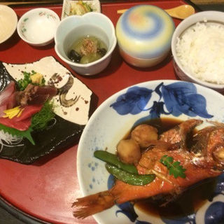 金目鯛の煮付け御膳(なすび総本店 )