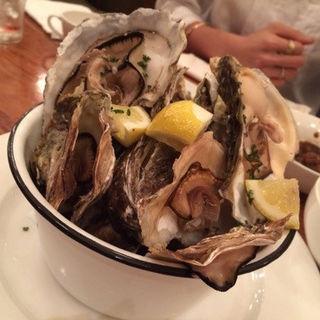 蒸し牡蠣(ナッツリゾートデュオ)