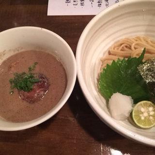 根室産 焼秋刀魚のつけそば(なな蓮)