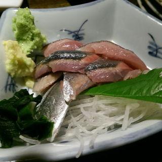 秋刀魚の刺身(なんまら)
