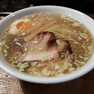 鶏そば(ニジイロ食堂 (【旧店名】マルカン 鶏麺))
