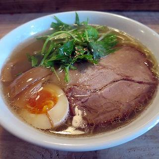 鶏麺 醤油(ニジイロ食堂 (【旧店名】マルカン 鶏麺))