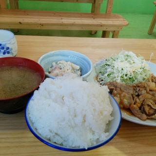 生姜焼き定食(にしざわ食堂 )