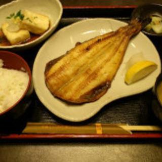 縞ホッケ炙り焼き定食(ニジュウマル リバーク川崎店)