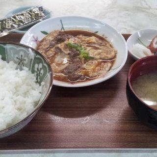 日替わり定食(肉玉)(にのみや食堂 )