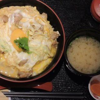 中札内鶏の親子丼(ねぎま)