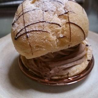 チョコとラズベリーのシュークリーム(のうきしま工房)