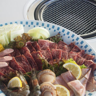 陽山道焼肉BBQセット(バーベキューガーデン 美ら海 )