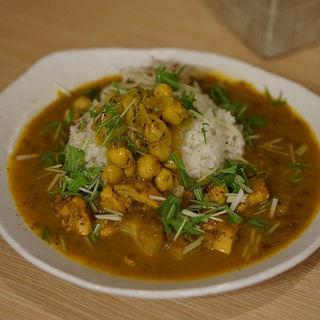 チキン 水菜(パクチー )