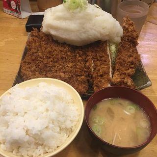 おろしチキンカツ定食 L(パセリ )