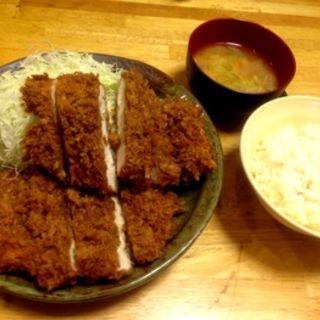 チキンかつ定食L(パセリ )