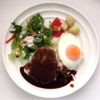 ロコモコライスプレート(バタープレミアム ららぽーと豊洲店 (Butter Premium【旧店名】バター ららぽーと豊洲))
