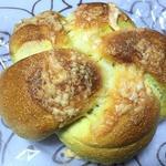 カレーチーズベーグル