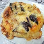 揚げ茄子のピッツァ