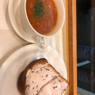 小倉クリームチーズホイップトースト(BECK'S COFFEE SHOP 新木場店 (ベックスコーヒーショップ))