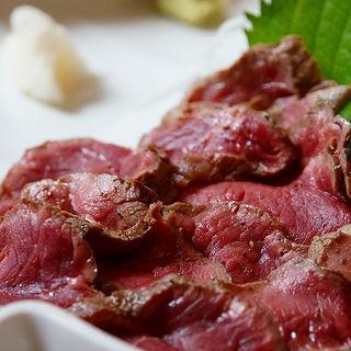 特選牛の炙り焼き定食(はふう 本店 )