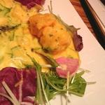 海老のマンゴーソース