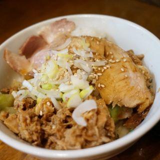 チャーシュー丼(はりけんラーメン )