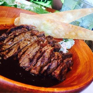 ハワイアンBBQビーフステーキ焙煎カレー(ハレノヘア イオンモール幕張新都心店)