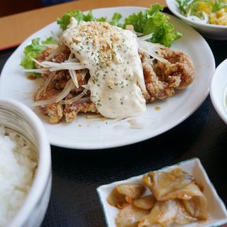 チキン南蛮定食(ぱんだ食堂 )