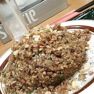 黒チャーハン(ぱんだ食堂 )