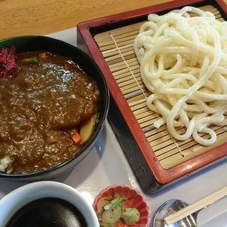 ざるうどんとミニ野菜カレーセット(ピグレット)