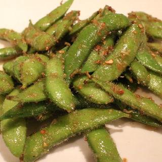 枝豆のアンチョビ炒め(びすとろ UOKIN ボンポテ )