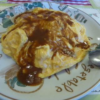 フワフワ卵のスペシャルオムライス(ビストロひまわり )