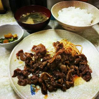 豚焼肉定食(ピッコロ)
