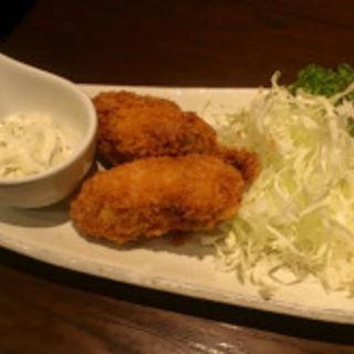 牡蛎フライ(ひない小町)