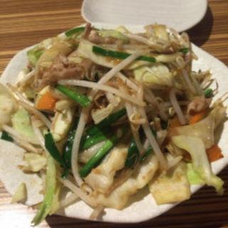 肉野菜炒め(ひびか食堂)