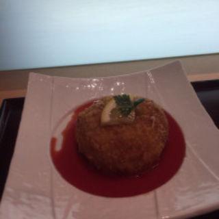 蟹クリームコロッケ(ひょうたん寿司)