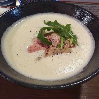 鶏やさい白湯ラーメン(白ラーメン)(コジーナ邸)