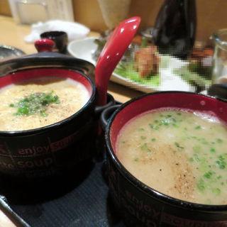 ふわふわ玉子スープ・白湯スープ(ひろひろ )