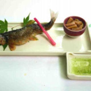 鮎の塩焼き(ひろや )
