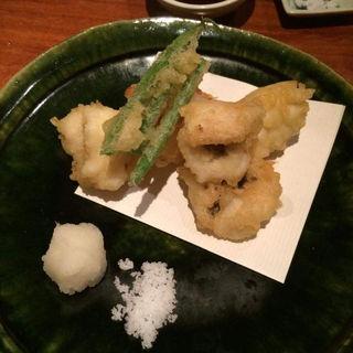 鱧天ぷら(びんびや )