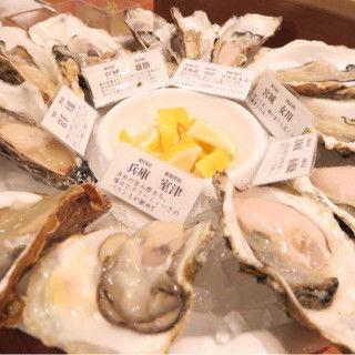生牡蠣(フィッシュハウス オイスターバー (FISH HOUSE OYSTER BAR))