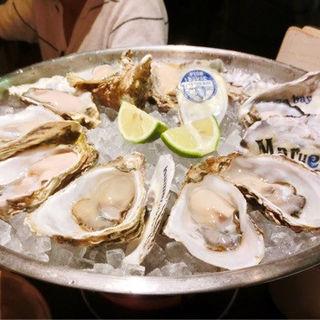 生牡蠣(フィッシュハウスオイスターバー恵比寿東口店)