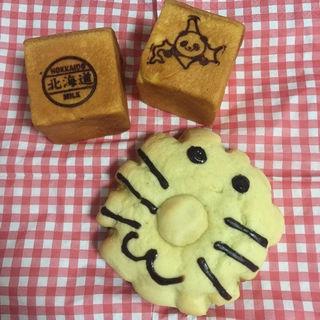 ライオンのクリームメロンパン(フォルサム 上野公園ルエノ店 )
