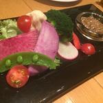 ■朝摘み三浦野菜のバーニャカウダ