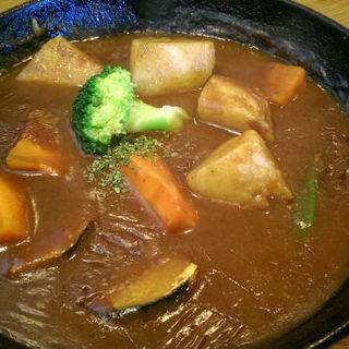 野菜カレー(ふらいぱん)