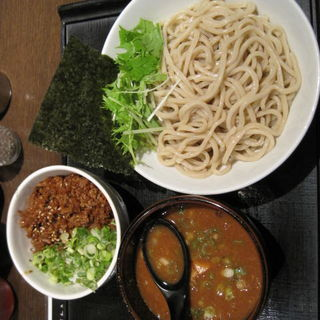つけ麺中盛(400g) 豚味噌飯(ブラウン)