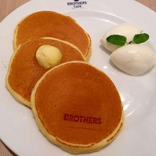 ノーマルパンケーキ(ブラザーズカフェ なんば店 (BROTHERS Cafe))