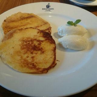 フレンチパンケーキ(ブラザーズカフェ なんば店 (BROTHERS Cafe))